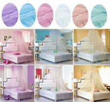 Elegant Round Lace Insect Bed Canopy Netting Curtain Dome Mosquito Net 1 PCS