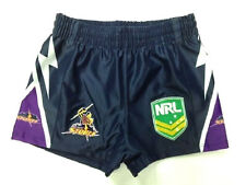 NRL MELBOURNE STORM KIDS SUPPORTER SHORTS - BRAND NEW