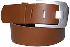 FRONHOFER Wide Belt 5cm real Cattle leather wide belt, Belt buckles with