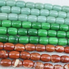 15x20mm Natural Barrel Beads Gemstone Drum Oval DIY Crafts Jewellry Making 15''