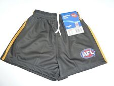 AFL RICHMOND TIGERS  ADULT FOOTY SHORTS - BRAND NEW