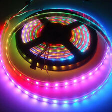 1/5m 30/60/144 LED WS2812B 5050 RGB LED Strip Light  Addressable MC