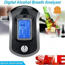 Digital police breath alcohol tester analyzer Detector Breathalyzer Test LCD Lot