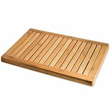 """Bamb?si by Belmint 100% Natural Bamboo Floor and Shower Mat - Measures 1"""" x"""