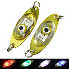 LED Deep Drop Underwater Fishing Squid Fish Lure Light Flashing Lamp Eager Nobby