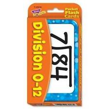 TREND 23018 Division Pocket Flash Cards  NEW