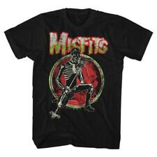 Misfits Skeleton Solo – Classic Horror Punk Rock Licensed Men's T-Shirt