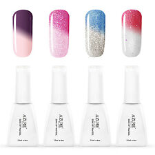 Azure Art DIY Salon Soak Off Color Change temperature UV Gel Nail Polish 12ml