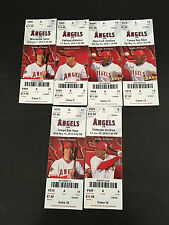 2010 Full Tickets Los Angeles Anaheim Angels YOU PICK ONE GAME Matsui Hunter