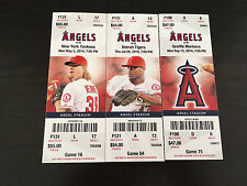 2014 Full Tickets Los Angeles Anaheim Angels YOU PICK ONE GAME Trout Pujols
