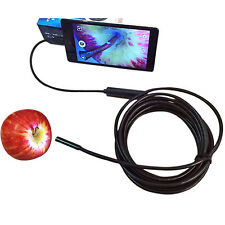 3.5/1.5M 7mm Android Endoscope Waterproof  Borescope USB Inspection Camera Pro L
