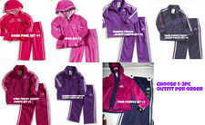 * NWT NEW GIRLS 2PC ADIDAS JACKET PANTS WINTER OUTFIT SET 12M 18M