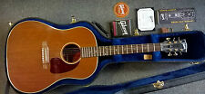 Gibson USA limited edition J45 Genuine Mahogany electro acoustic guitar, 75 made