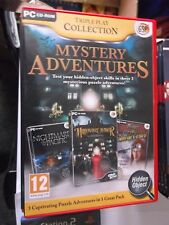 MYSTERY ADVENTURES TRIPPLE PLAY COLLECTION HIDDEN PC OBJECT GAME
