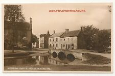 Bourton on the Water, Gloucestershire. Sherbourne Street. Real Photo Postcard