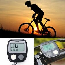 Bicycle Bike Cycling Computer LCD Odometer Speedometer Stopwatch Speed meter Hot