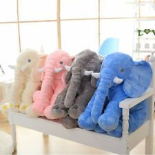 Stuffed Animal Cushion Kids Baby Sleeping Soft Pillow Toy Cute Elephant NEW