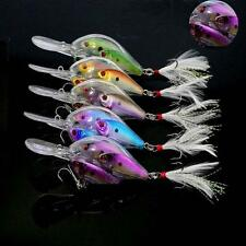 3in1 Live Target Yearling Fishing Lures Crankbait Bait Ball Bass Jerkbait Tackle