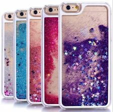 For iPhone 7 - HARD CASE COVER Flowing Waterfall Liquid Sparkle Glitter Stars