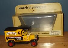 Matchbox Yesteryear Y12 Model T Ford Van Cada Toys Code 2 Model