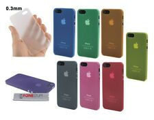 Thin Slim TPU Hard 0.3mm Cover Case Skin Case for iPhone SE 5 5S