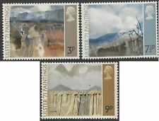 Great Britain 1971 ULSTER PAINTINGS (3) Unhinged Mint SG 881-3