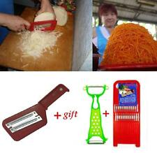 Cabbage Slicer Shredder Cutter grater + gift 2 # KOREAN CARROT GRATERS