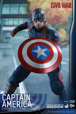 CAPTAIN AMERICA CIVIL WAR SIXTH SCALE FIGURE HOT TOYS MARVEL COMICS IN STOCK