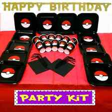 POKEMON BIRTHDAY CHILDREN PARTY KIT Plates Cups Table Cover Napkins Straws