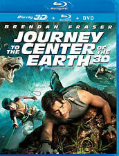 Journey to the Center of the Earth 3D(Blu-ray3D, blu-ray, DVD Canadian)3DISC NEW