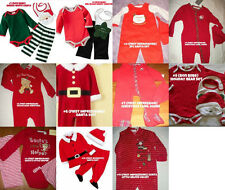 * NWT NEW BOYS CHRISTMAS SANTA OUTFIT SET 0/3M 3/6M
