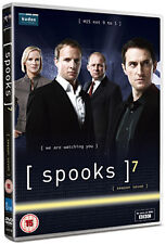 SPOOKS - SERIES 7 - DVD - REGION 2 UK