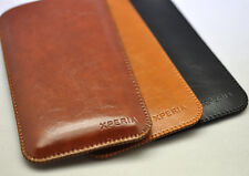 For Sony Xperia Z5 Premium Microfiber Leather Sleeve Pouch Bag Slim Case