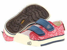 NIB Keen Kids Sula Ensign Blue Pink Canvas Shoes Size 10 11 12 13 $45