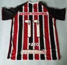 Penalty Sao Paulo FC Away Jersey #11 Pato Match Issue 2013 Shirt Match Prepared