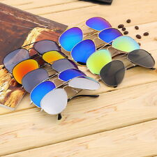 Unisex Women Men Vintage Retro Fashion Mirror Lens Sunglasses Glasses LS