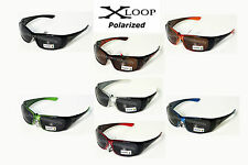 X-Loop Mens POLARIZED Sports Sunglasses Cycling Fishing Running Golf
