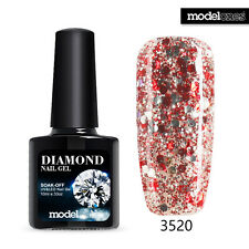 Modelones Art DIY Glitter Salon Diamonds Soak Off UV Led Gel Nail Polish 10ML