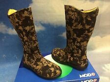 France MOD8 Girls Leather Zipper Boots Size 26, 27 /Toddler Size 9.5 to 10.5