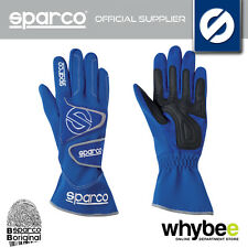 SALE! SPARCO TYPHOON K-5 K5 KARTING KART RACE GLOVES with SUEDE PALM