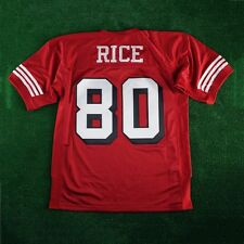1994 Jerry Rice San Francisco 49ers Mitchell & Ness Red Authentic Jersey Men's