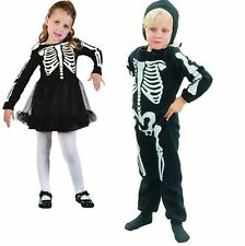 Halloween Toddler Skeleton Costume Bone Print Fancydress