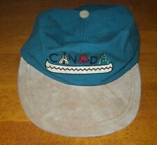 Canada Cotton & Suede Baseball Hat, K P Caps, One Size Fits All