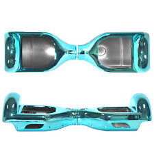 Chrome Cyan Shell Case For 2 Wheels Self Balancing Electric Scooter Hoverboard