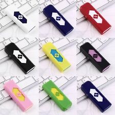 Hot No Gas USB Electronic Rechargeable Battery Flameless Cigarette Lighter UE