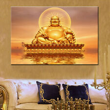 """BUDDHA MODERN ABSTRACT WALL ART PRINTED OIL PAINTING ON CANVAS UNFRAMED 16""""X24"""""""