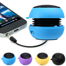 Mini Portable Hamburger 3.5mm Speaker Audio Player Laptop PC iPod MP4 Cell Phone