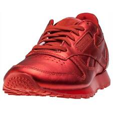 Reebok Cl Lthr X Face Stockholm Womens Trainers Red New Shoes