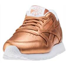 Reebok Cl Lthr X Face Stockholm Womens Trainers Bronze New Shoes
