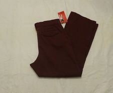 NWT WOMENS LEE STRAIGHT LEG COMFORT FIT PANTS $54 BLACK FOREST 4631852